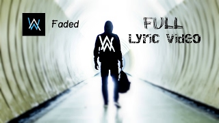 Alan Walker-Faded Lyrics