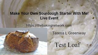 Day 12 Bake Sourdough Bread Today! Test Loaf - PART 1