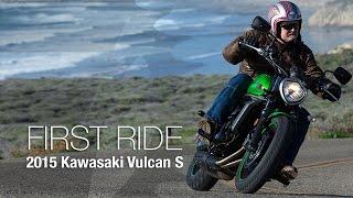 2015 Kawasaki Vulcan S First Ride - MotoUSA