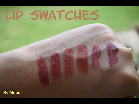My Top Nude Lipsticks for Medium Tan Skin Tone(Filipina)