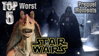 Top 5 Worst Star Wars Prequel Moments