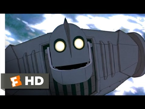 The Iron Giant (9/10) Movie CLIP - Superman (1999) HD