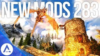 5 Brand New Console Mods 283 - Skyrim Special Edition (PS4/XB1/PC)