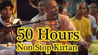 Hare Krishna Kirtan by Akincana Krishna Prabhu on Day 1 of ISKCON Juhu 50 hours Non Stop Kirtan 2016