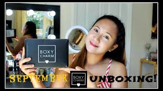 BOXYCHARM UNBOXING|SEPTEMBER|GERINE KATE JOHNSTON