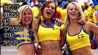 Hottest fans girls in Russia , World cup 2018