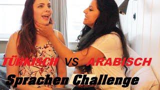 Sprachen Challenge TÜRKISCH vs. ARABISCH mit Msfashionandcreative so lustig