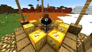 Minecraft LUCKY BLOCK HUNGER GAMES #2 with Vikkstar