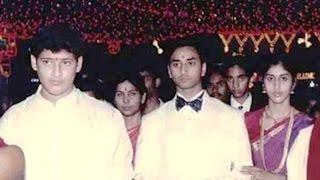 Telugu Hero Mahesh Babu Family Rare Images
