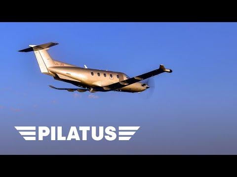 Jetfly Discover the Pilatus PC 12 english