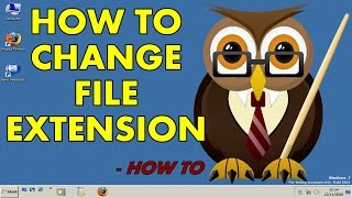 How to Change File Extension or Type on Windows in 2017 | How to Tutorial
