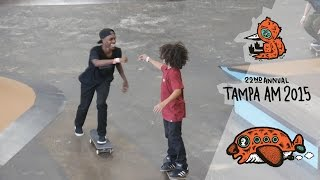 Brasileiros no Tampa AM 2015