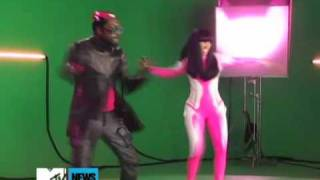 Nicki Minaj And Will.I.Am 'Check It Out' Video Set