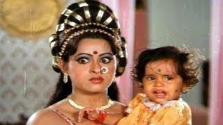 Mohini Sapatham Scenes - Mohini Was Angry On Malathi - Ahalya