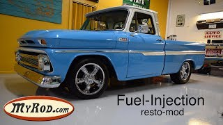 1965 Chevy Truck fuel injected RESTO-MOD
