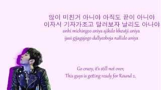 Go Crazy - 2PM Colour Coded Lyrics (HAN/ROM/ENG)