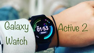 Galaxy Watch Active  2 Unboxing + Hands On