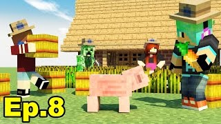 A Minecraft Survival Adventure Series / Episode 08/ A New Barn and a Fan Wall!