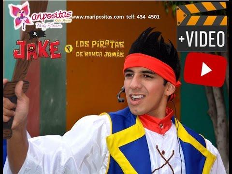 SHOW DE JAKE Y LOS PIRATAS