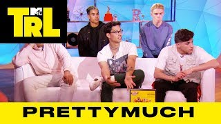 PRETTYMUCH Talk 'PRETTYMUCH An EP' Cover Art & Their Chocolate Frosted Flakes LP | TRL