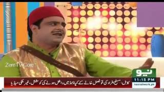 Sawa Teen 3 January 2016 - Behroz Sabzwari in Iftikhar Thakur Show