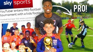THIS KIDS FOOTBALL TEAM IS UNBEATABLE!! 8 YEAR OLD MESSI!
