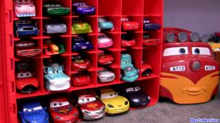 Cars 2 Diecast Storage case 30 CAR TOYS Carry Case Kids Toys Trev Diesel Train 045672279248