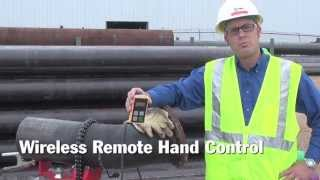 Wireless Remote Hand Control Eliminates Control Cable Back to Power Source