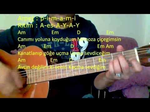 Gitar Dersi - Mimoza Çiçeğim (Volkan Konak)