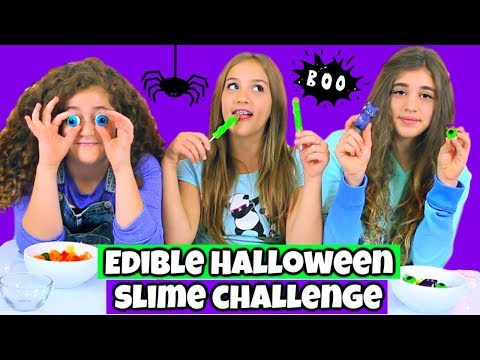 Xxx Mp4 Edible Halloween Slime Challenge Making Slime From Halloween Candy 3gp Sex