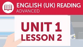 Advanced British English Reading - Reading Promotional Information