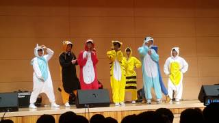 [역대급 칼군무] 남자 고딩들이 추는 '트와이스 - 티티' 댄스 커버 동물 버젼!! 'TWICE - TT' dance cover animal version!!