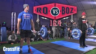 Ro Vs. Boz: Open Workout 16.4 in 4K