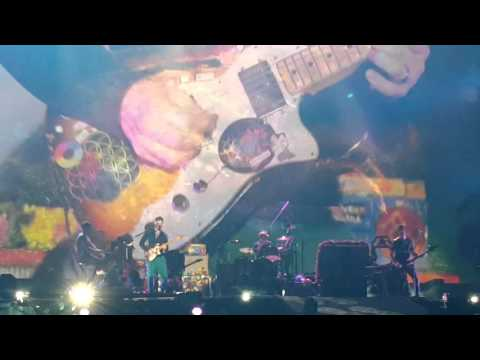 Coldplay en Buenos Aires @Estadio Único De La Plata - Final - Sky full of stars y Up&Up