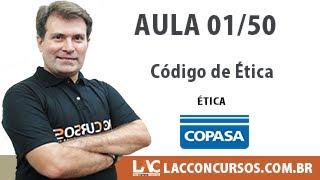 Copasa MG 2017 Curso Completo - Código de Ética - 01/50