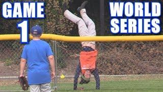 WORLD SERIES GAME 1! | On-Season Softball Series