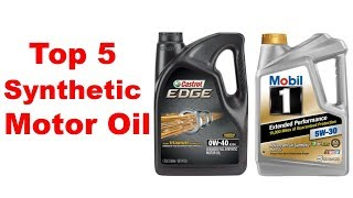 Top 5 Synthetic Motor Oil Review || Best Synthetic Motor Oil Review ||