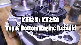 How-To: Kawasaki KX125/KX250 Top & Bottom Engine Rebuild 1994-2007