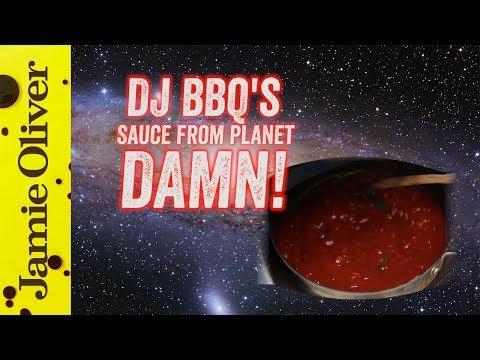 Homemade BBQ Sauce from Planet DAMN!  DJ BBQ
