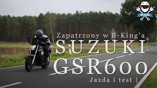 Suzuki GSR 600 Baby B-King na częściach GSXR Test. Sportowy Naked Opinia - Motobanda