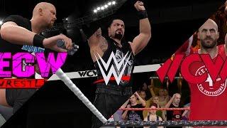 WWE 2K16 Universe Mode: Draft! WWE, WCW & ECW