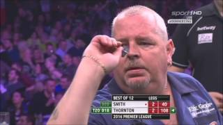 Robert Thornton vs Michael Smith 8th Week Premier League Darts 2016