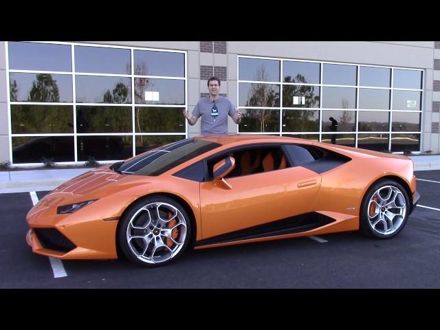 Here's Why the Lamborghini Huracan Is Worth $250,000
