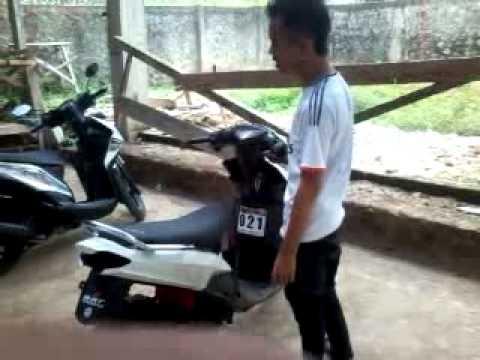 YAMAHA MIO TEST DRAG 250 cc