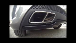 Mercedes a45 amg vs Golf 7 - Sound - accration 0-240