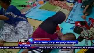 Banjir Cipinang Mulai Surut, Warga Masih Tetap di Pengungsian - NET24
