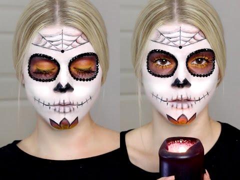 Xxx Mp4 Sugar Skull Makeup Tutorial Halloween 3gp Sex