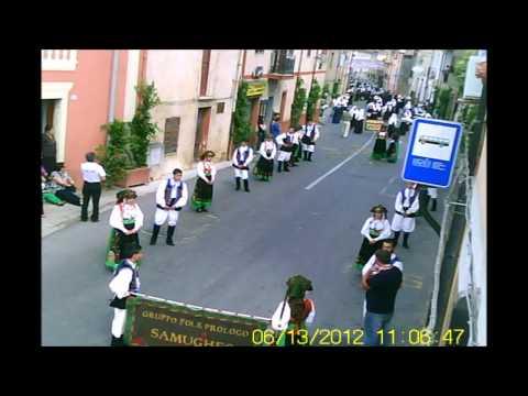 Processione Sant Antonio da Padova a Fluminimaggiore 2012