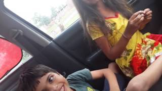 Bother and sister fight