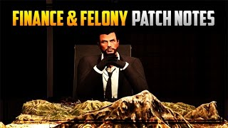 GTA 5 'FINANCE & FELONY' PATCH NOTES! Update 1.34 New Features, Bug Fixes & More!